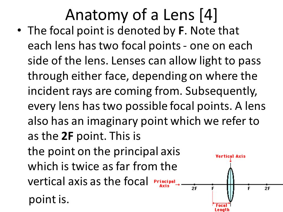 Anatomy of a Lens [4]